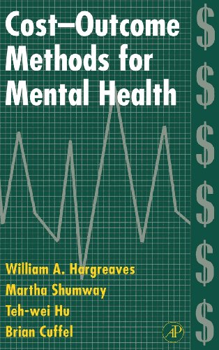 9780123251558: Cost-Outcome Methods for Mental Health