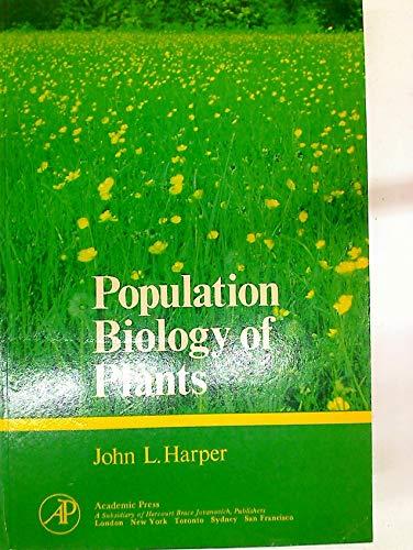 9780123258526: Population Biology of Plants