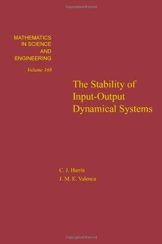 9780123276803: The stability of input-output dynamical systems, Volume 168 (Mathematics in Science and Engineering)
