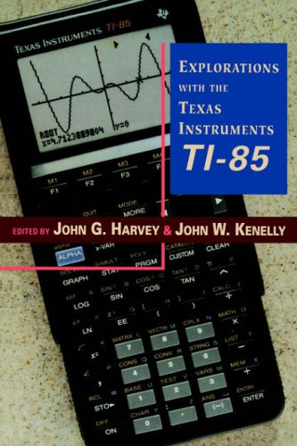 9780123290700: Explorations with Texas Instruments Ti-85