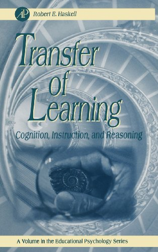 9780123305954: Transfer of Learning: Cognition and  Instruction (Educational Psychology)