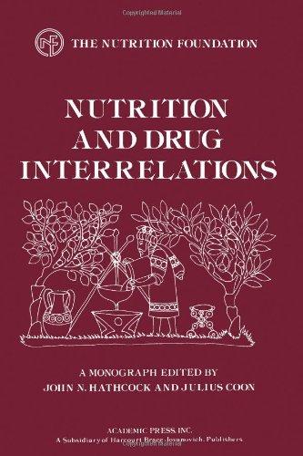 Nutrition and Drug Interrelations (Monograph Series (Nutrition: International Symposium on
