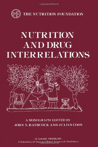 9780123325501: Nutrition and Drug Interrelations (Monograph Series (Nutrition Foundation).)