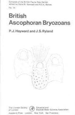 9780123350503: British Ascophoran Bryozoans (Synopses of the British fauna)