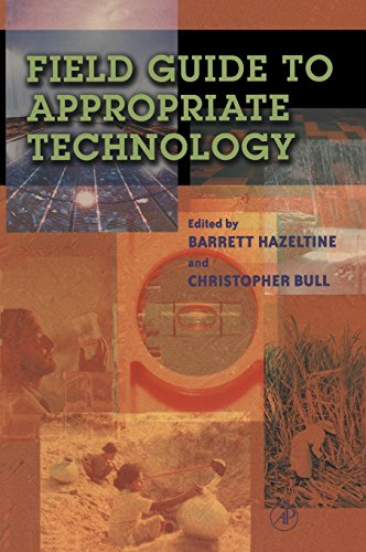 9780123351852: Field Guide to Appropriate Technology
