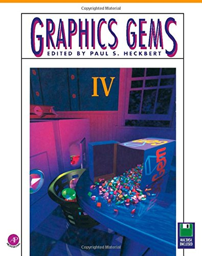 9780123361561: Graphics Gems Iv/Book and Mac Version Disk (The Graphics Gems Series) (No.4)