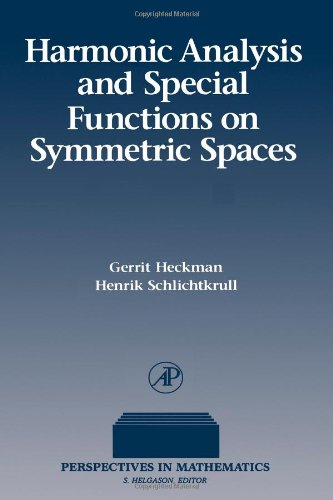 9780123361707: Harmonic Analysis and Special Functions on Symmetric Spaces (Perspectives in Mathematics)