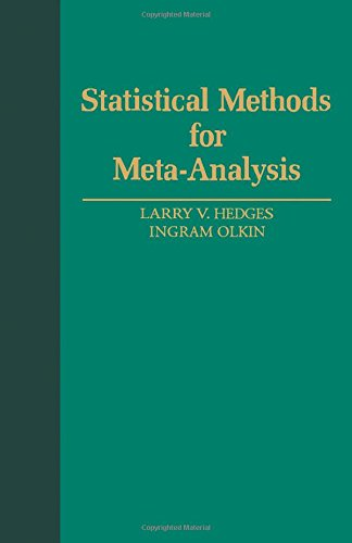 9780123363800: Statistical Methods for Meta-Analysis