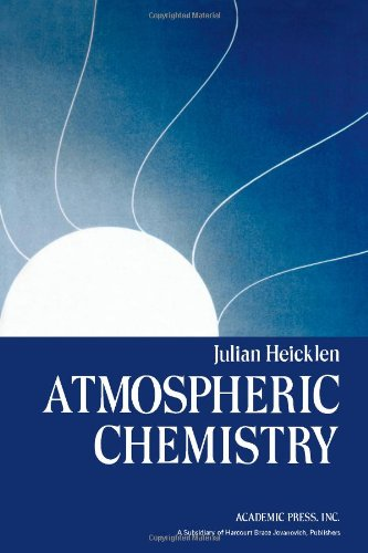Atmospheric Chemistry: Heicklen, Julian