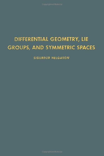 9780123384607: Differential Geometry, Lie Groups and Symmetric Spaces (Pure and Applied Mathematics,Vol 80)