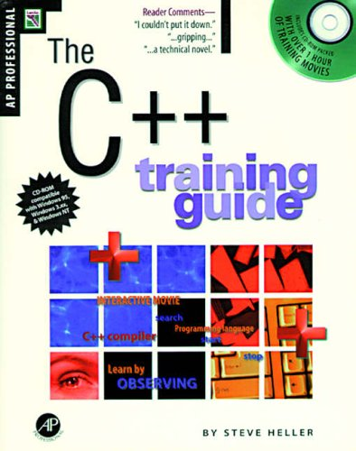 9780123391025: C++ Training Guide, Revised Edition: Revised Printing