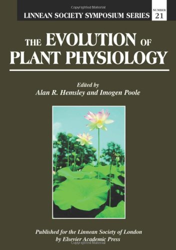 9780123395528: The Evolution of Plant Physiology (Linnean Society Symposium) (Vol 1)