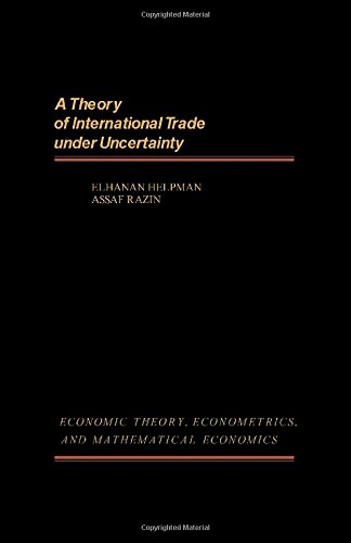 9780123396501: Theory of International Trade Under Uncertainty (Economic theory, econometrics, and mathematical economics)