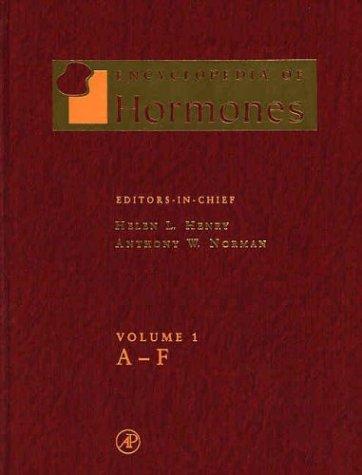 9780123411037: Encyclopedia of Hormones