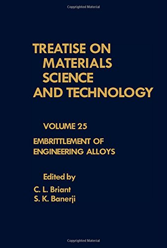 9780123418258: Treatise on Materials Science and Technology: Embrittlement of Engineering Alloys v. 25