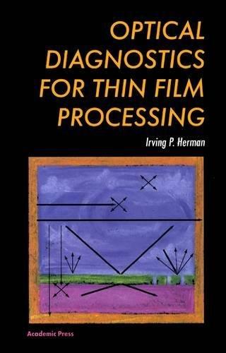 9780123420701: Optical Diagnostics for Thin Film Processing