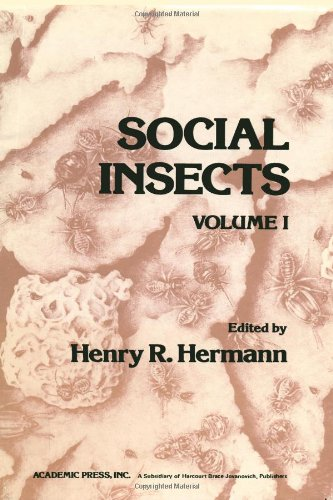 9780123422019: Social Insects: v. 1