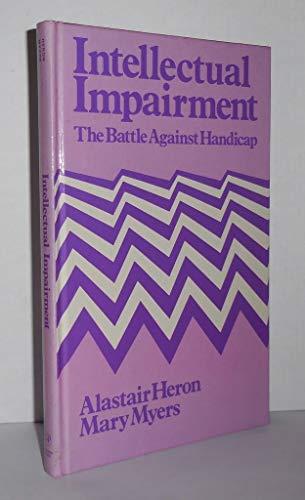 9780123426802: Intellectual Impairment