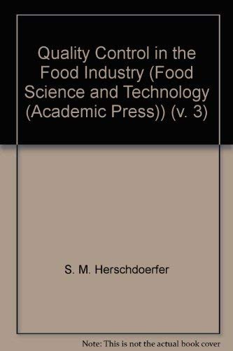 Quality Control in the Food Industry (Food: unknown