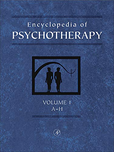 9780123430106: Encyclopedia of Psychotherapy, Two-Volume Set