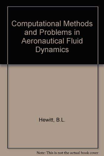 9780123463500: Computational Methods and Problems in Aeronautical Fluid Dynamics