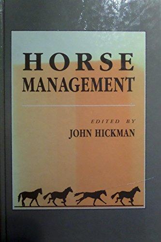 9780123472182: Horse Management