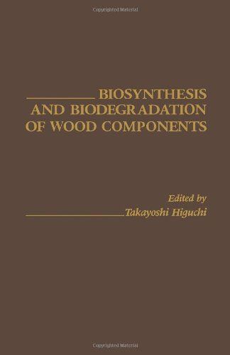 9780123478801: Biosynthesis and Biodegradation of Wood Components
