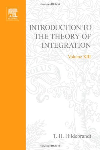 9780123480507: Introduction to the Theory of Integration (Pure and Applied Mathematics)