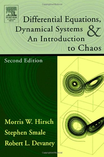 9780123497031: Differential Equations, Dynamical Systems, and an Introduction to Chaos