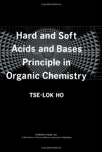9780123500502: Hard and Soft Acids and Bases Principle in Organic Chemistry