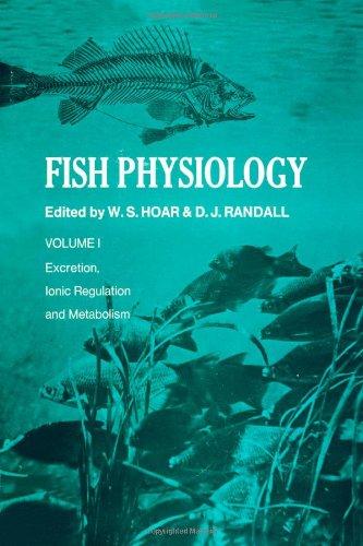9780123504012: FISH PHYSIOLOGY V1, Volume 1