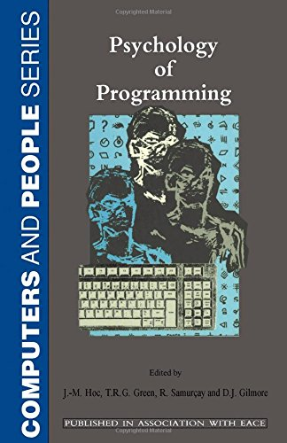 9780123507723: Psychology of Programming (Computers and People)