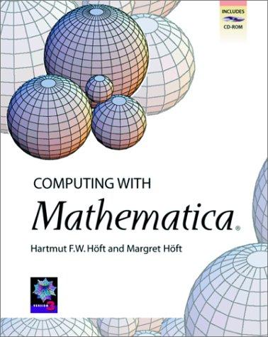 9780123516602: Computing with Mathematica