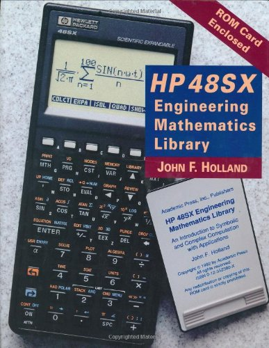 9780123523808: HP 48SX Engineering Mathematics Library