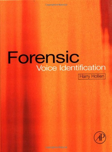 9780123526212: Forensic Voice Identification