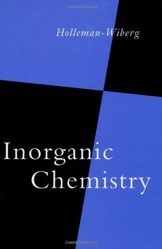 9780123526519: Holleman-Wiberg's Inorganic Chemistry