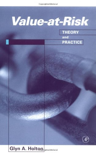 9780123540102: Value at Risk: Theory and Practice