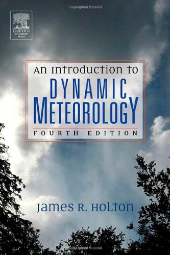9780123540157: An Introduction to Dynamic Meteorology