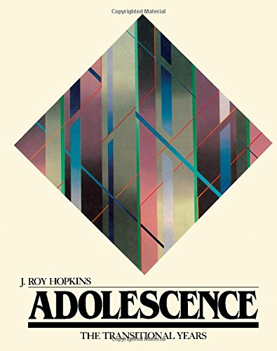 9780123555809: Adolescence: The Transitional Years