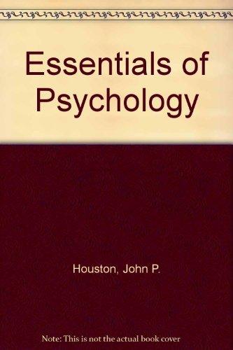 9780123568588: Essentials of Psychology