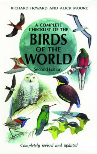 9780123569103: A Complete Checklist of the Birds of the World