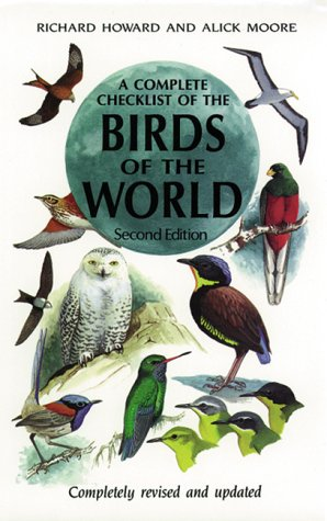 9780123569103: A Complete Checklist of Birds of the World, Second Edition