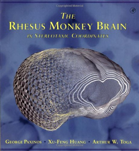 9780123582553: The Rhesus Monkey Brain in Stereotaxic Coordinates