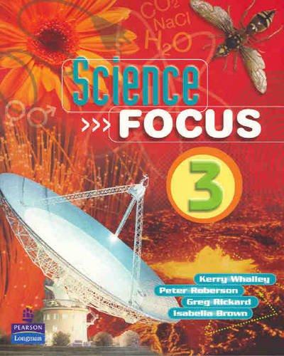 9780123604460: Science Focus 3 Coursebook: Coursebook