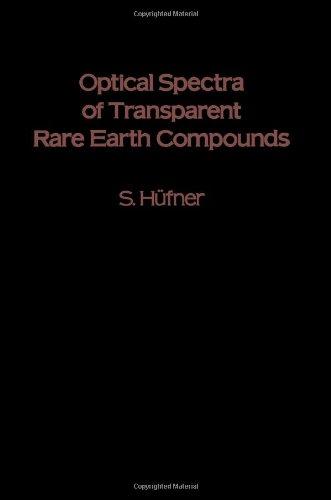 9780123604507: Optical Spectra of Transparent Rare Earth Compounds