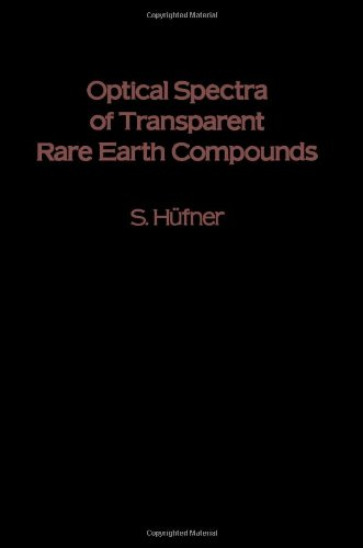 9780123604507: Optical Spectra of Transparent Rare Earth Compounds
