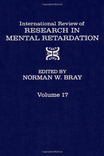 9780123662170: International Review of Research on Mental Retardation, Vol. 17