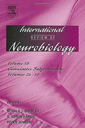 9780123668592: International Review of Neurobiology, Volume 58