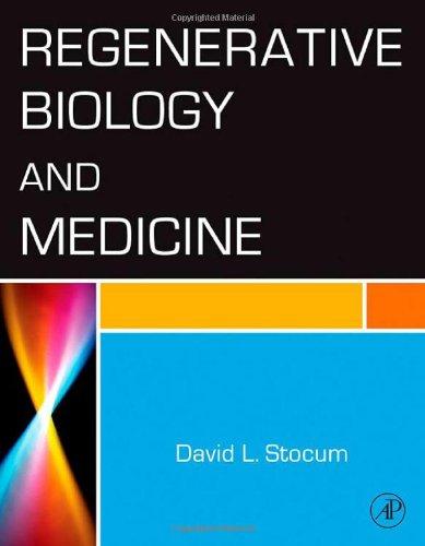 9780123693716: Regenerative Biology and Medicine