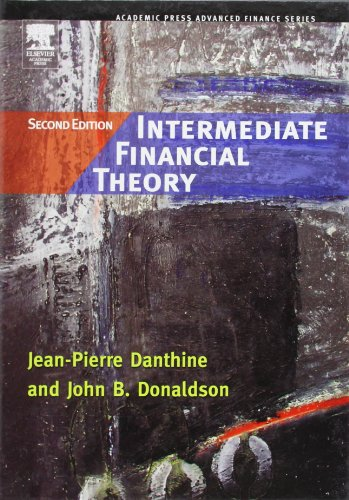 9780123693808: Intermediate Financial Theory, Second Edition (Academic Press Advanced Finance)